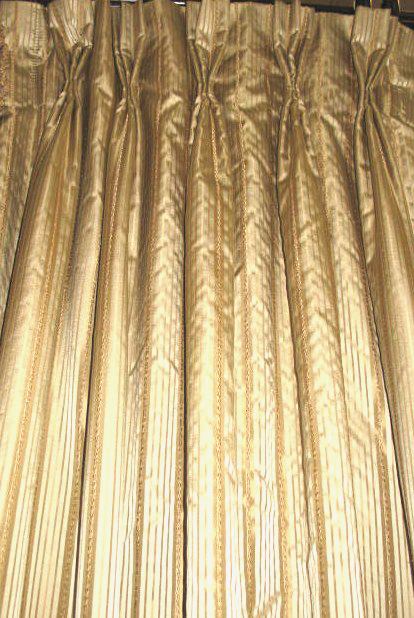 Versailles Drapery Panel - French Pleat